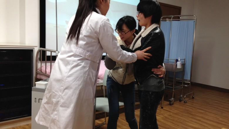 Nurse with Patient & Mom